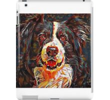 Border Collie - A Portrait in Oil iPad Case/Skin