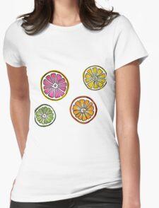 summer fruit Womens Fitted T-Shirt