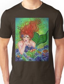 Mermaids Hiding place By Renee Lavoie Unisex T-Shirt
