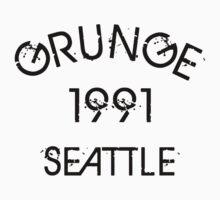 Grunge 1991 Seattle by ascheb
