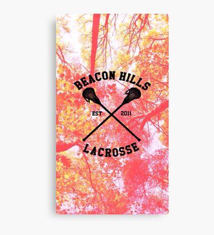 Teen Wolf Lacrosse Canvas Print
