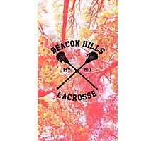 Teen Wolf Lacrosse Photographic Print