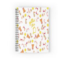 getting the D Spiral Notebook