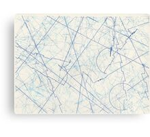 EXTERMINATE Blue Canvas Print