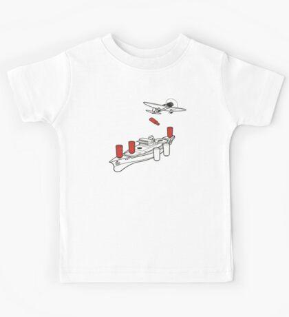 BATTLESHIP / SEA BATTLE  Kids Tee