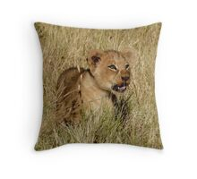 Cutest Lion Cub Ever Throw Pillow