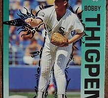 021 - Bobby Thigpen by Foob's Baseball Cards