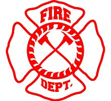 Fire Brigade logo icon by Style-O-Mat
