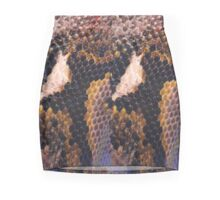 Snakeskin Landscape  Mini Skirt