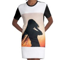 mythical lover Graphic T-Shirt Dress