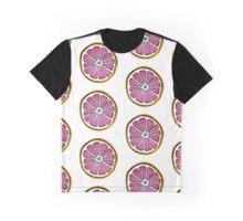 watercolor Grapefruit  Graphic T-Shirt