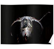 RAF Harrier GR-3 Poster