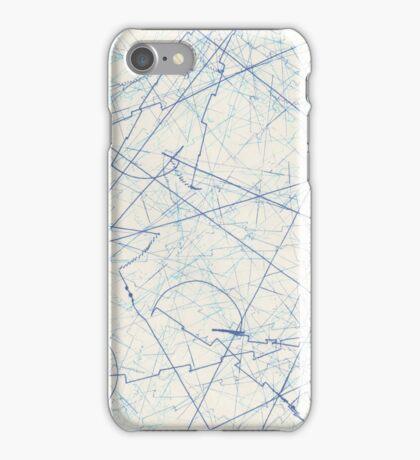 EXTERMINATE Blue iPhone Case/Skin