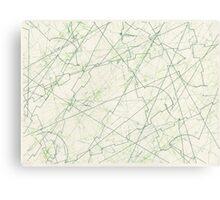 EXTERMINATE Green Canvas Print