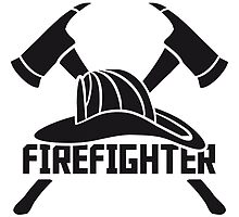 Fire helmet 2 axes by Style-O-Mat