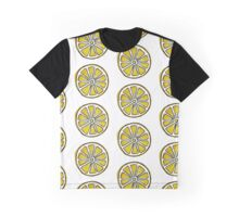lemon slice watercolor Graphic T-Shirt