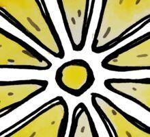 lemon slice watercolor Sticker