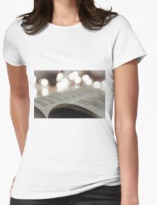 The Lights Womens Fitted T-Shirt