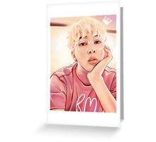 Soft Namjoon Greeting Card