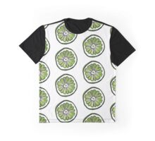 lime slice watercolor Graphic T-Shirt