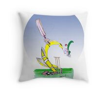 Keep Calm and don't lose your Head - tony fernandes Throw Pillow