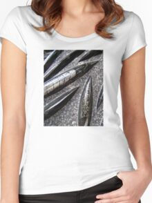 Orthoceras Fossils Women's Fitted Scoop T-Shirt