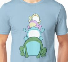 Colorful Frog Stack Unisex T-Shirt
