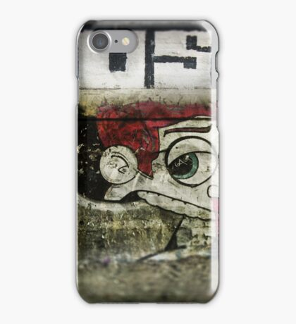The writing on the wall iPhone Case/Skin
