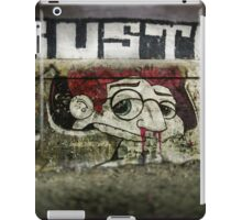 The writing on the wall iPad Case/Skin