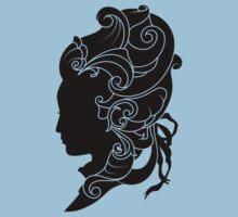 Rococo Silhouette: Madame by peppertea