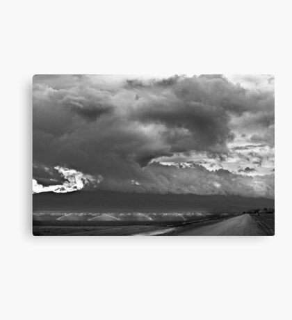 Irrigation with Chance of Rain Canvas Print