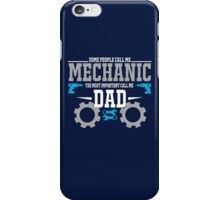 best gift for mechanic iPhone Case/Skin
