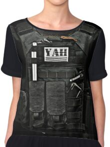 Full Armour of Yah Chiffon Top