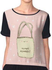 Totes Adorbs! Chiffon Top