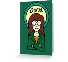 Daria Greeting Card