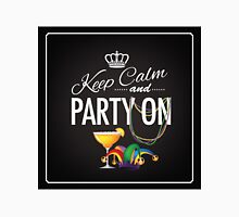 Keep calm and party on Cinco De Mayo blackboard design Unisex T-Shirt