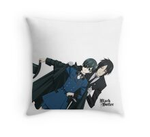 Black Butler  Throw Pillow