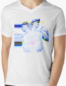 I LOVE YOU 2. DAVI Mens V-Neck T-Shirt
