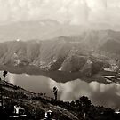 the Phewa Lake  by queenenigma