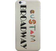 Custom Broadway Logo iPhone Case/Skin