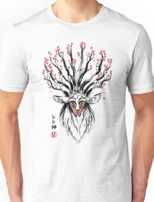 The Deer God sumi-e Unisex T-Shirt