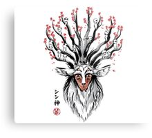 The Deer God sumi-e Metal Print