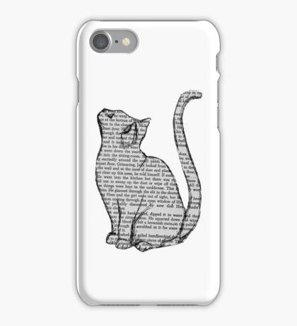 NEWSPAPER CAT tumblr merch! iPhone Case/Skin