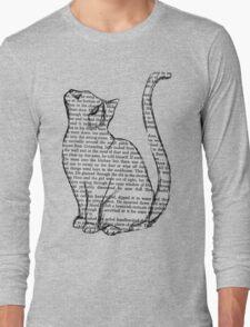 NEWSPAPER CAT tumblr merch! Long Sleeve T-Shirt
