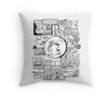 Shopping Spree Throw Pillow