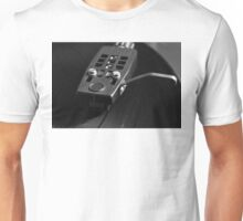 Vinyl Record Playing on a Turntable Overview Unisex T-Shirt