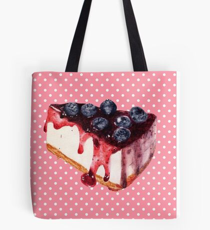Cheesecake Tote Bag