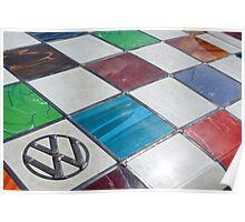VW awesome bonnet Poster