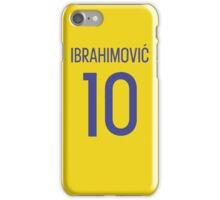 Ibrahimovic Sweden iPhone Case/Skin