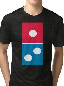 Dominos Logo Tri-blend T-Shirt